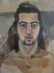 self portrait  study by benlovesit123