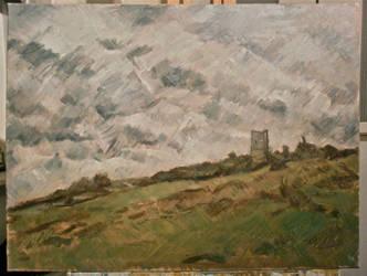 hadleigh castle wip by benlovesit123