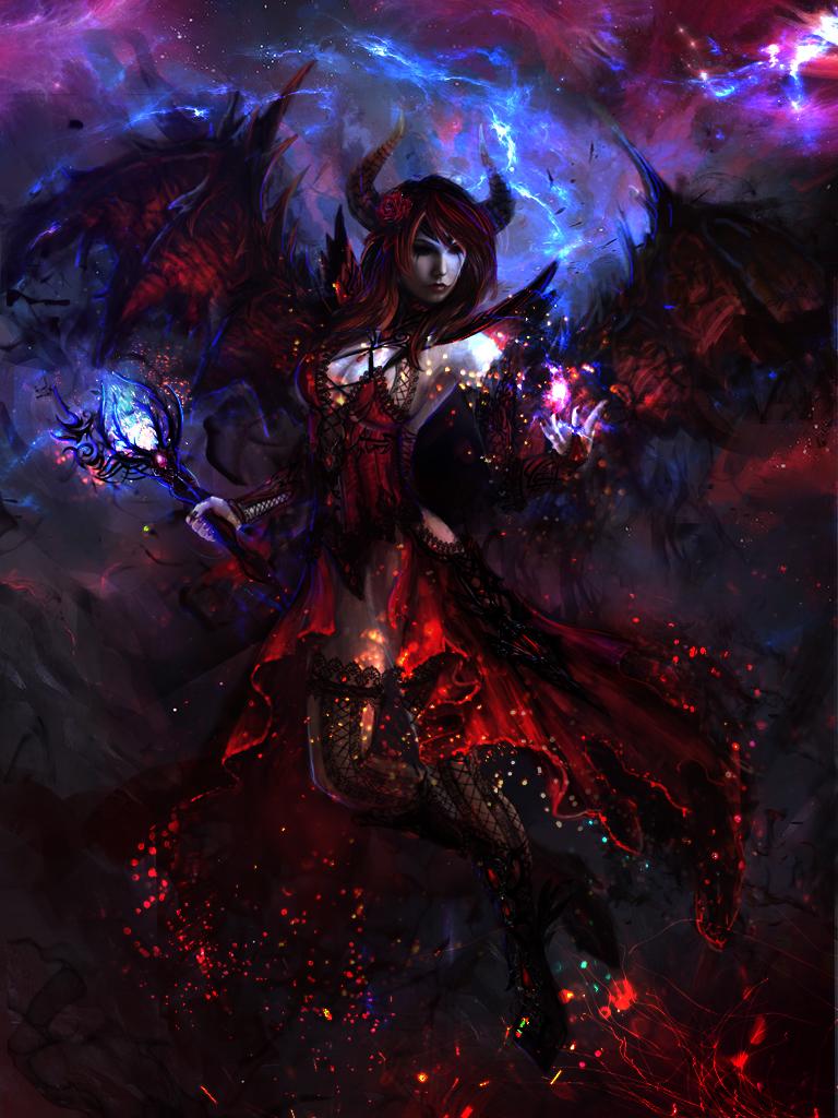 Dark Sorseress by Solaice