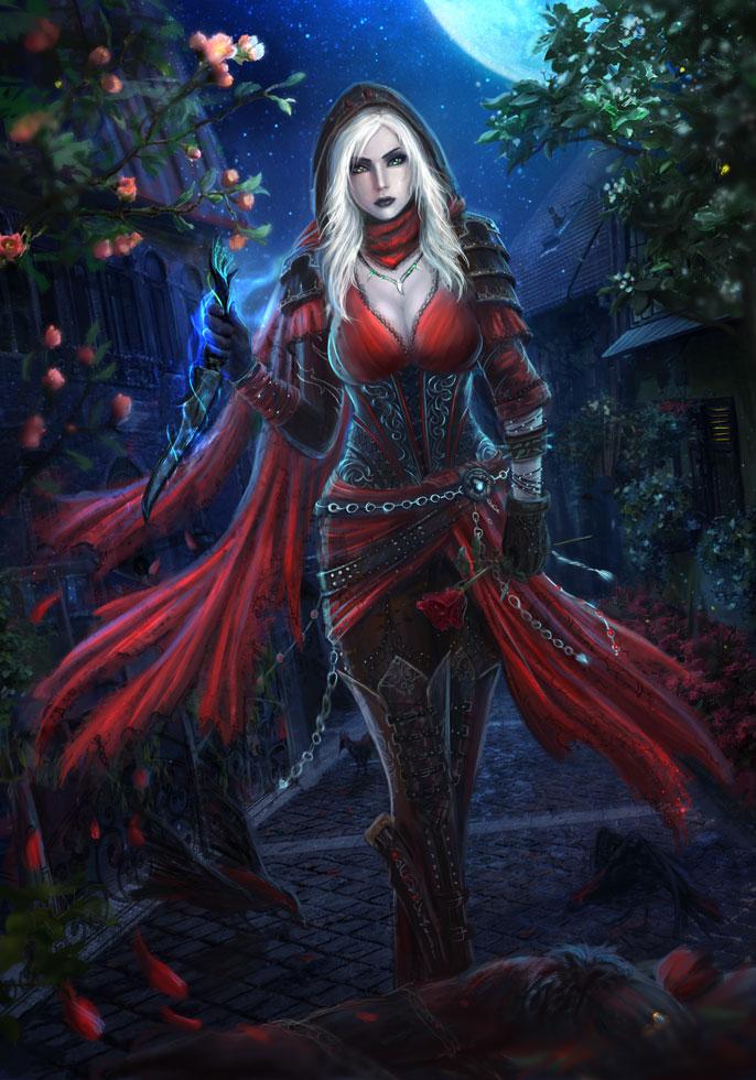 Fantasy nudes elf vampire assassin that interrupt