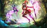 Magikarp hunt by Solaice