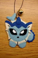bell plush: vaporeon by lulukohime