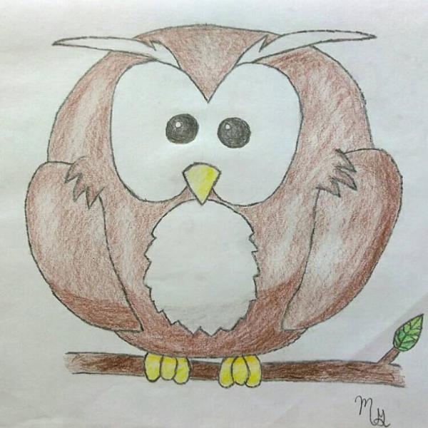 Cartoon owl by allinyourheadetsy on deviantart for Cartoon owl sketch