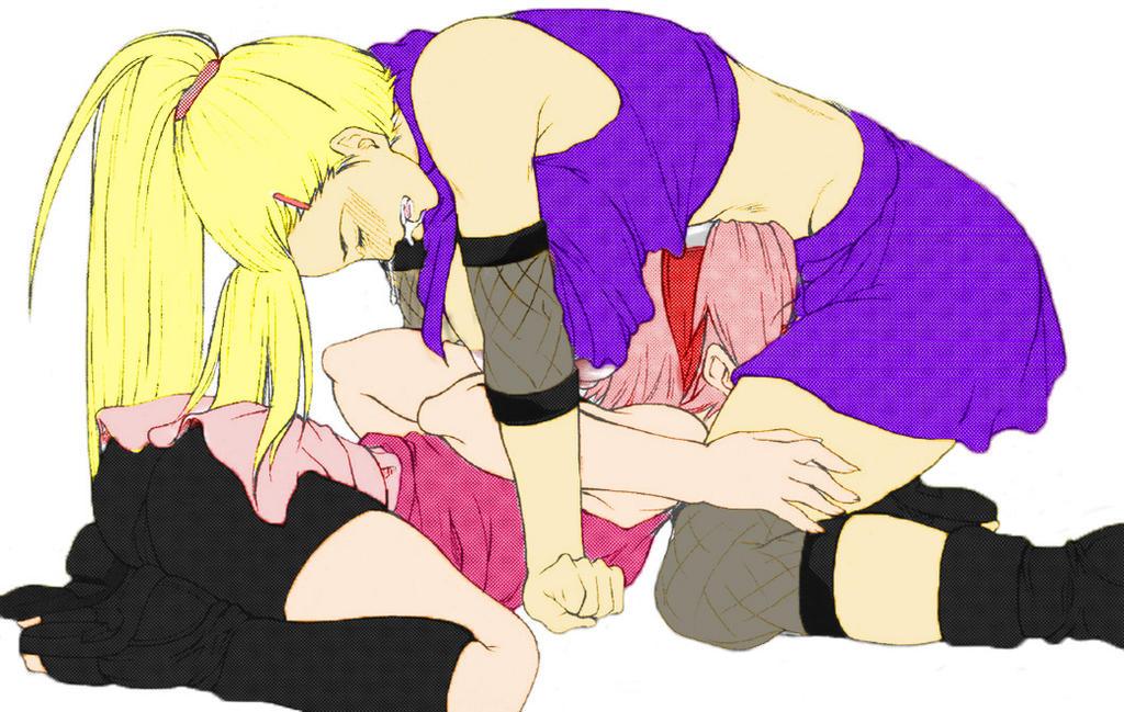 Ino And Sakura Lesbian Porn
