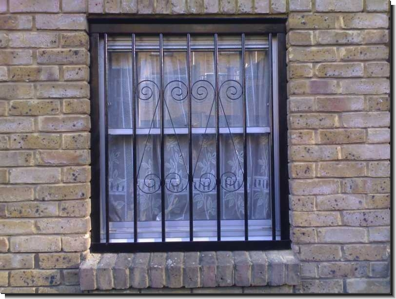 types of security grilles by windowsecuritybarsco on