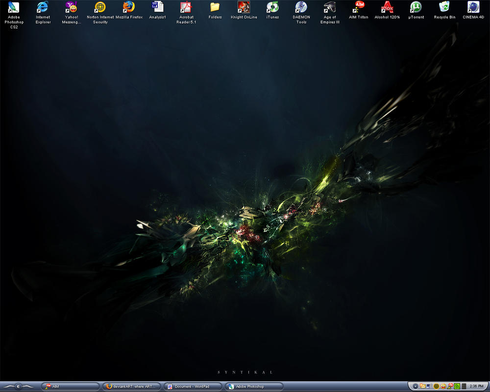 My Desktop by EminentEnd