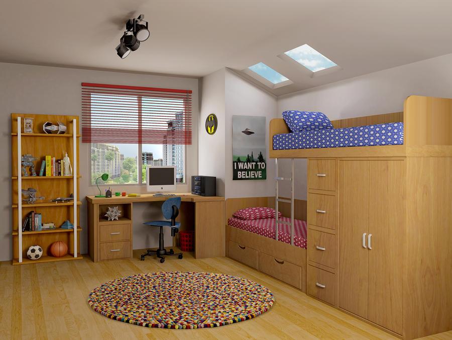 Kids Room by HaryHerbert