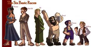 5 Basic Races errata
