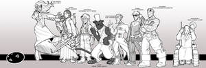 Steampunk X-Men - preview 3 by OttoArantes