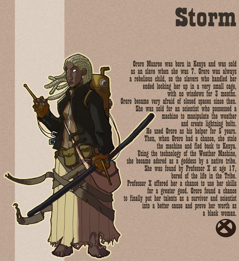 Steampunk Storm by OttoArantes