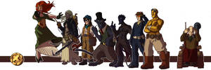 Steampunk X-Men - colors by OttoArantes