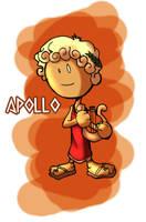 The Gods - Apollo by OttoArantes