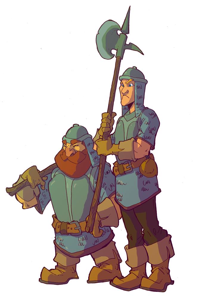 Guards by OttoArantes