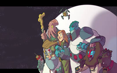 Space Crew - Colors by OttoArantes
