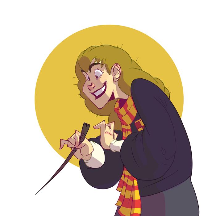 Hermione by OttoArantes