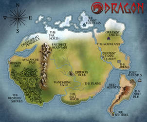 DRAGON the game MAP by DraconicParagon
