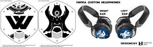 VModa Mockup Sci Fi by DraconicParagon