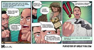 Cool Guys Game Night Webcomic 1