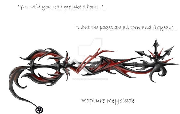 My Keyblade: Rapture by FiendRaphael