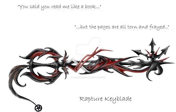 My Keyblade: Rapture by FiendRaphael
