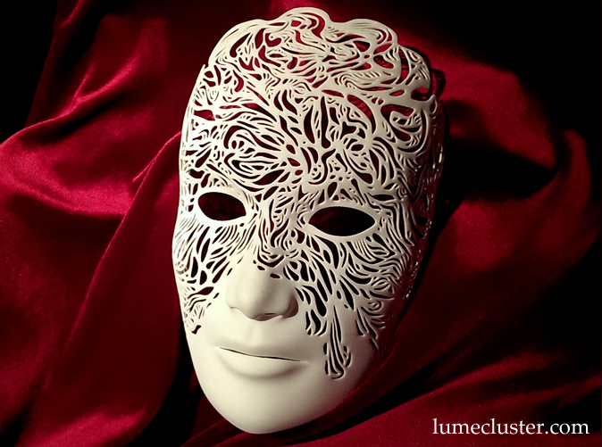 Dreamer Mask: Illumination (3D Printed) by Lumecluster