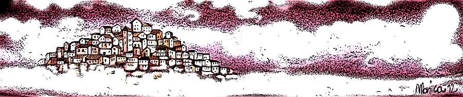 Inked Pink Paradise