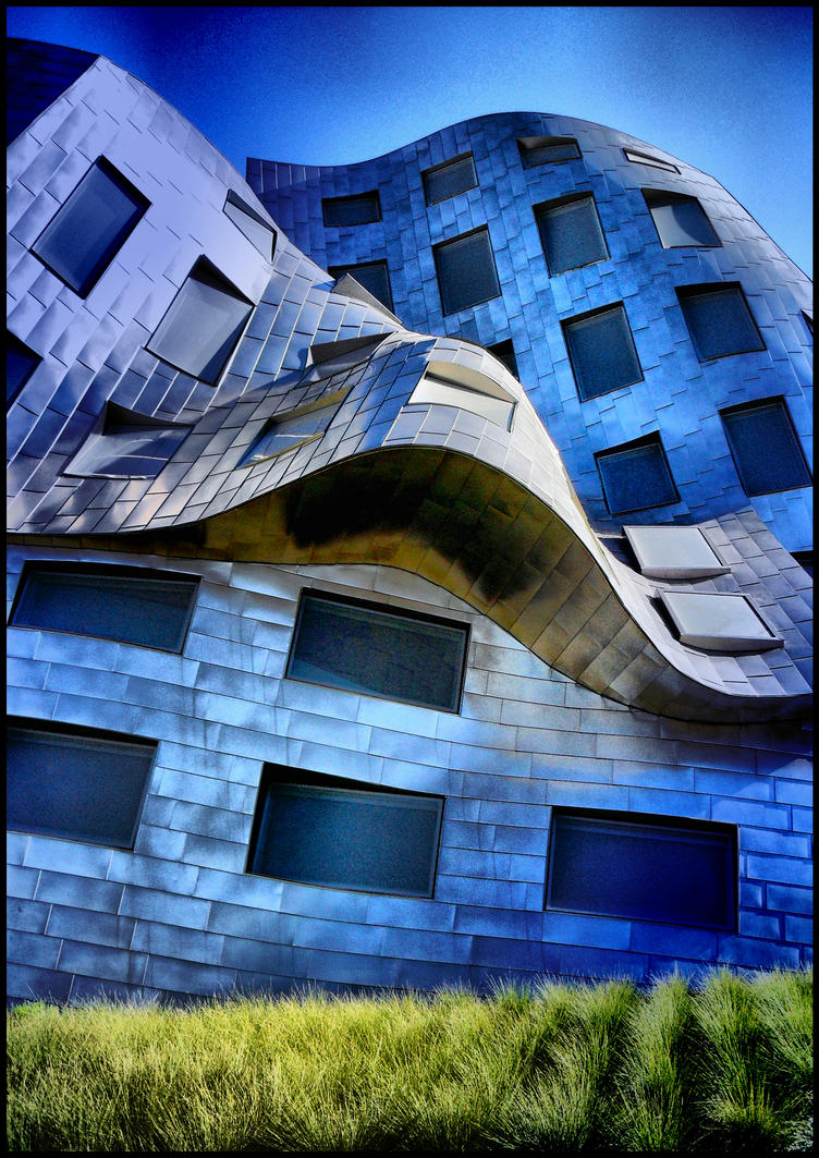 Abstract Exterior - Gehry IV by krasblak