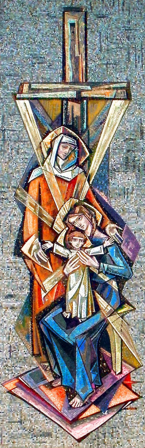 Saint Anne's Mosaic (central) by krasblak