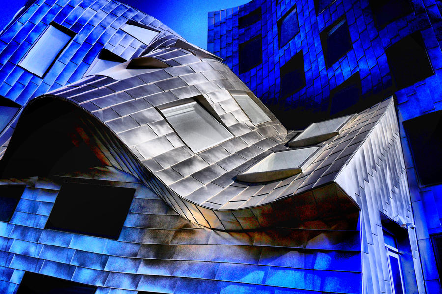 Abstract Exterior - Gehry VIII by krasblak