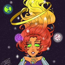 Starfire. by cookiesnmulk