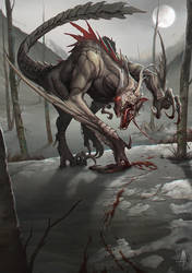 The Chimera - Witcher 3 Extended Bestiary by ArdentMind