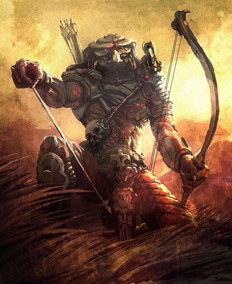 Predator fan art by AltoContrasteStudio