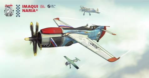 Cafe Air Racer by AltoContrasteStudio