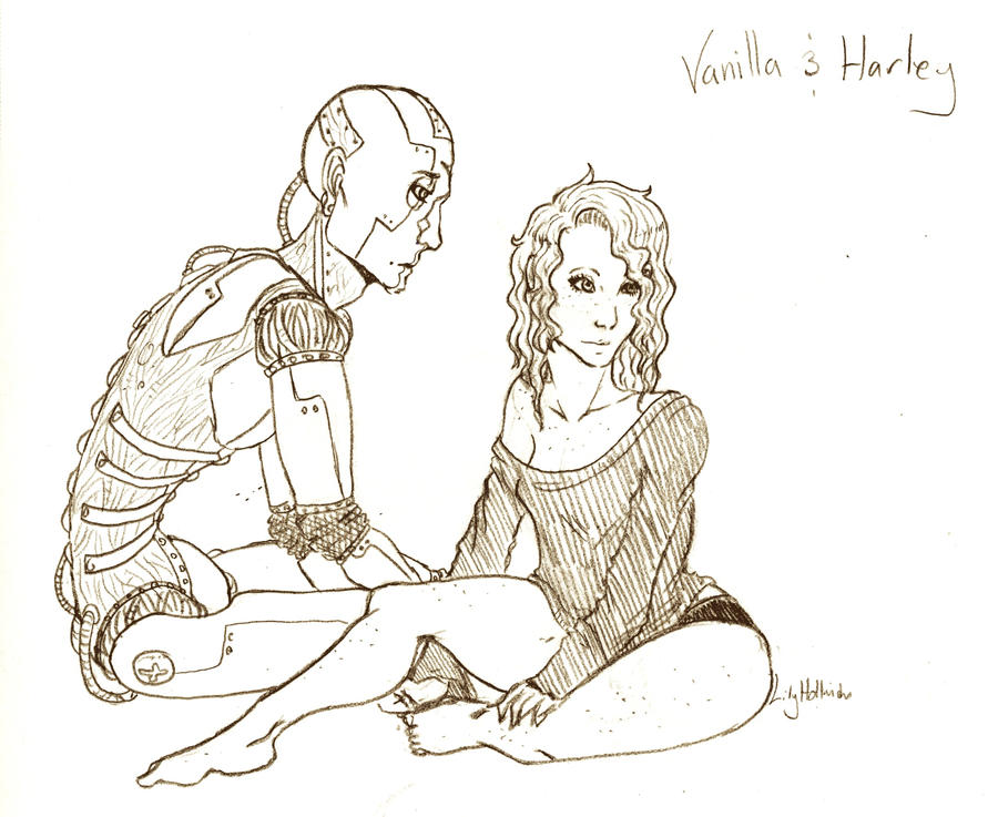 Vanilla and Harley by ekko-park