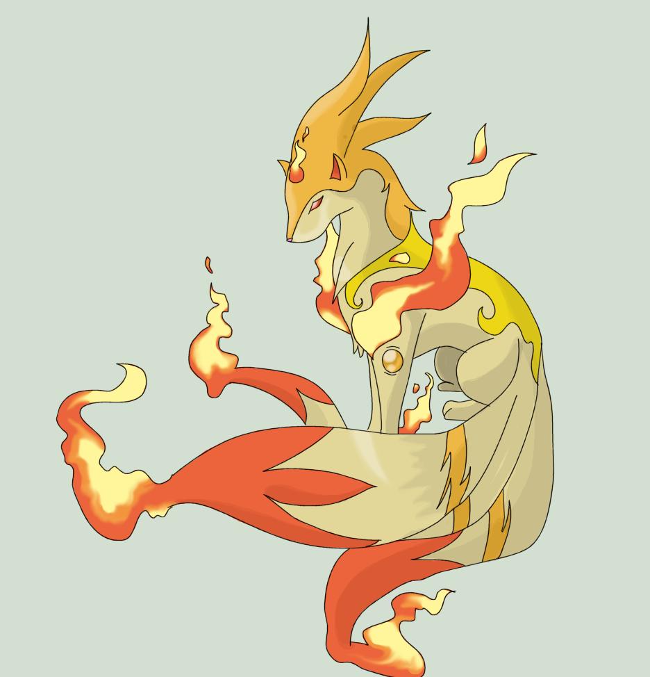 Mega Ninetales by Squeeblez on DeviantArt