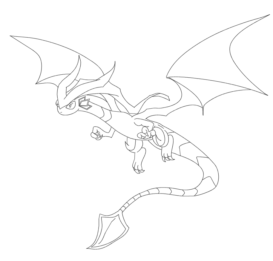 flygon coloring pages - photo#16