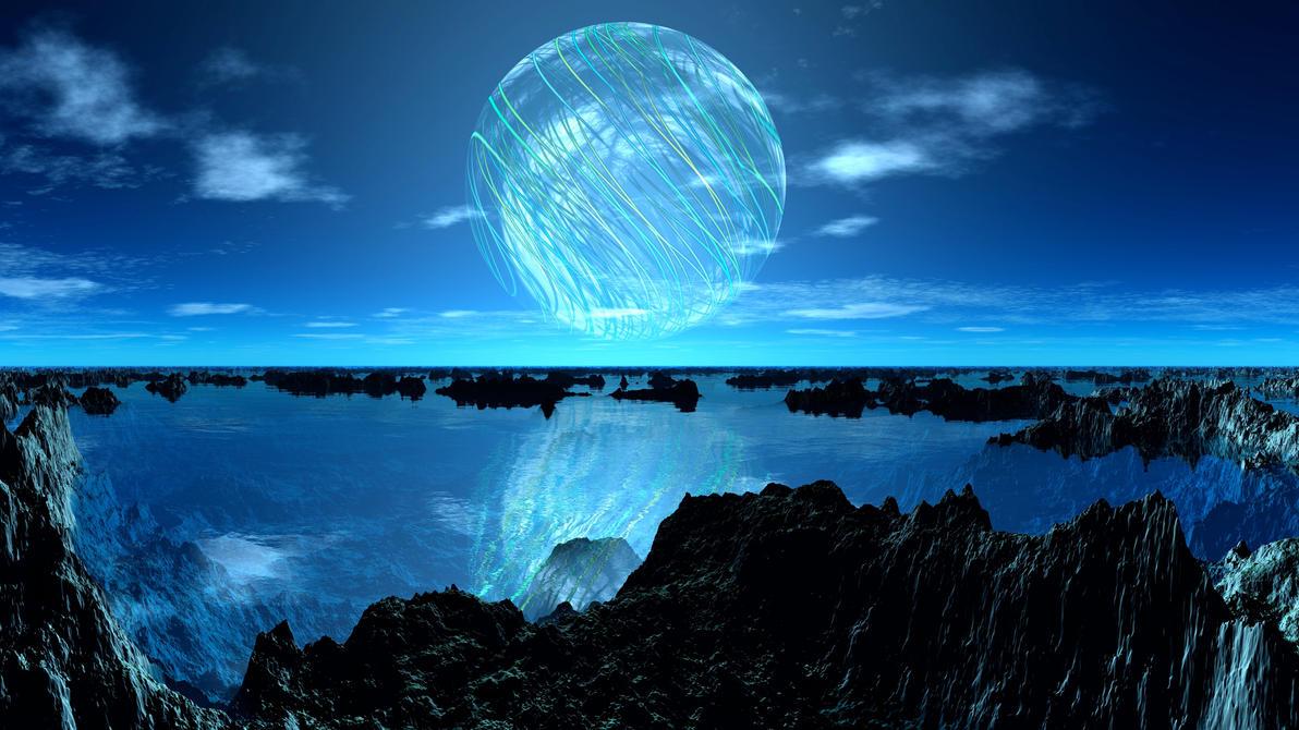 Blue Marbel by DarkAngelsRhapsody