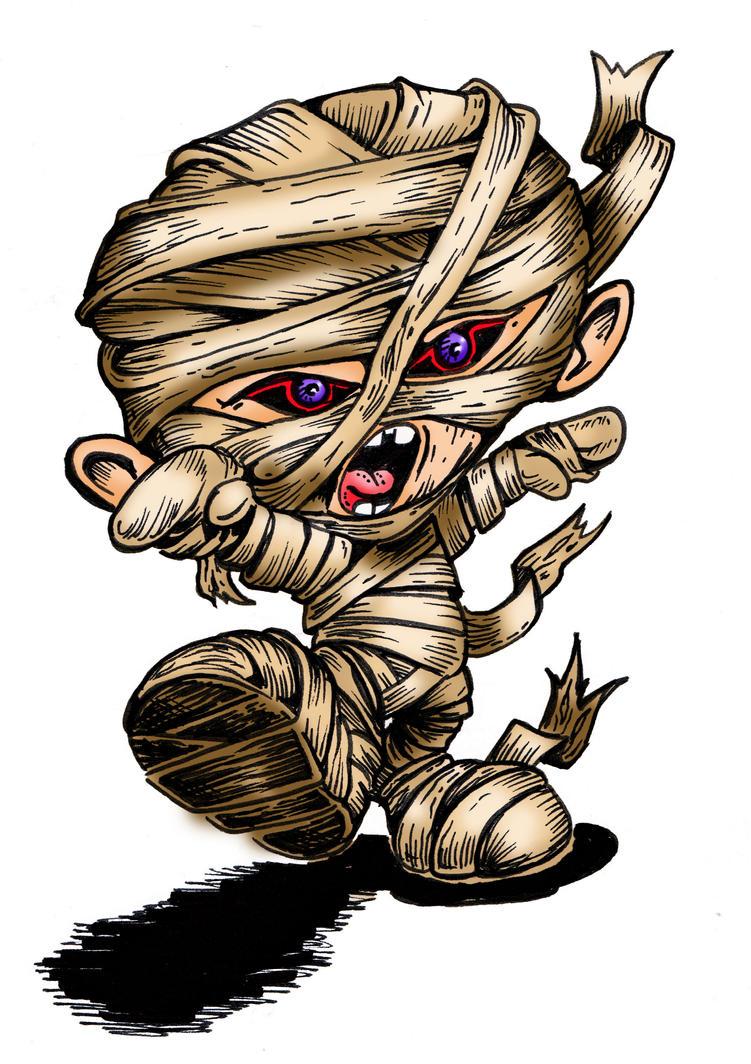 Mummy Kidd by jericodarkwynd