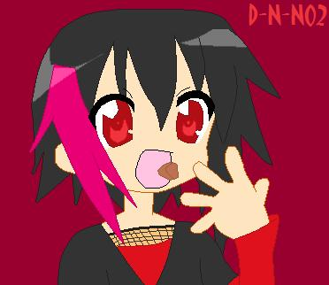 Me- Lucky Star Style by Death-Note-Ninja02
