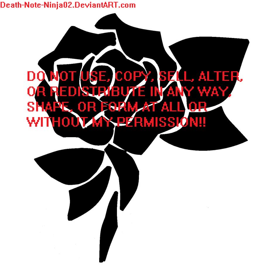 Tribal Death Tattoo: Tribal Rose Tattoo By Death-Note-Ninja02 On DeviantArt