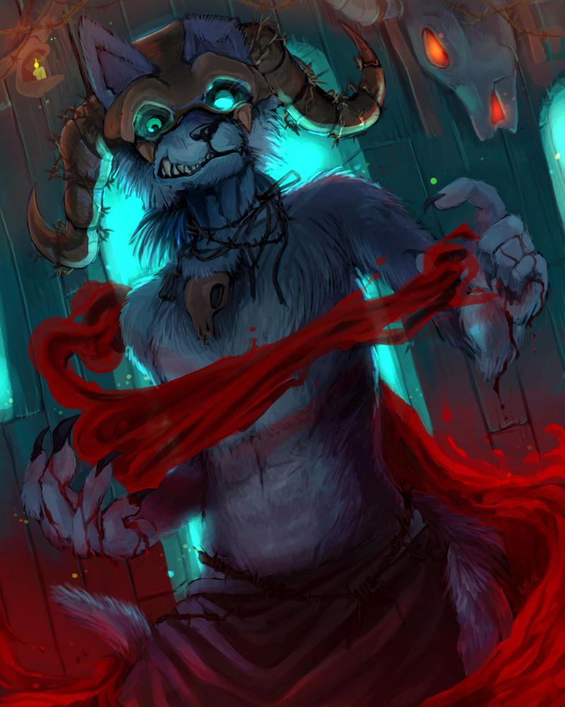 :The Bloody Shaman: by Lylac