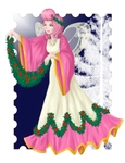Wanda's christmas dress