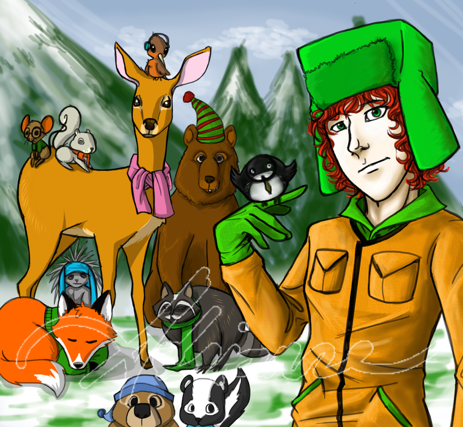 Kyle and the Woodland Critters by SUCHanARTIST13 on DeviantArt