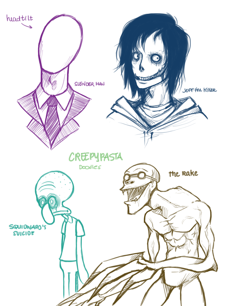 creepy pastas by SUCHanARTIST13