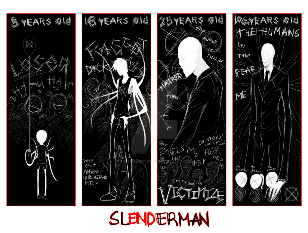 Slenderman's Age Meme by SUCHanARTIST13
