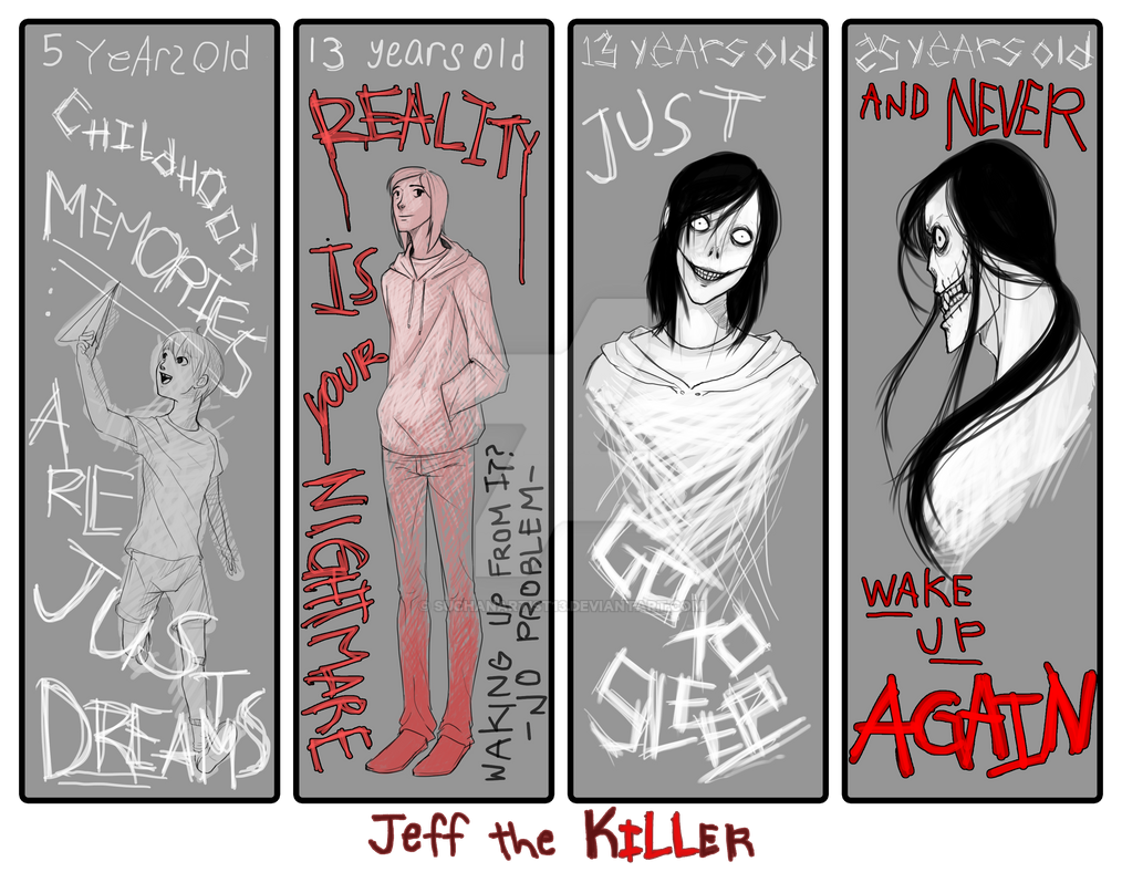Jeff The Killer's Age Meme by SUCHanARTIST13