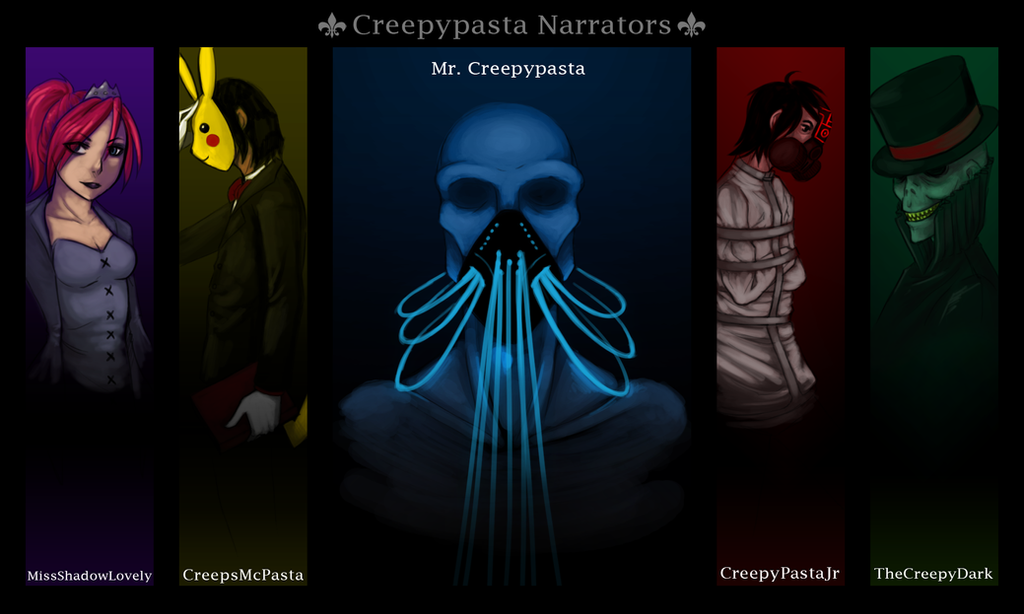 Creepy Pasta Narrator Wallpaper by SUCHanARTIST13