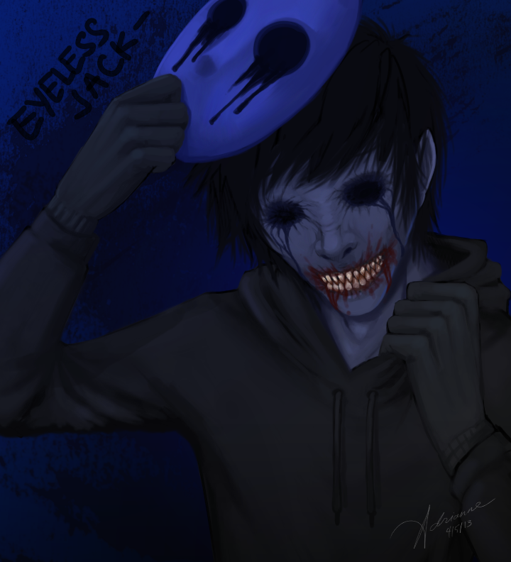 Eyeless Jack Wallpaper Eyeless jack (unmasked) by