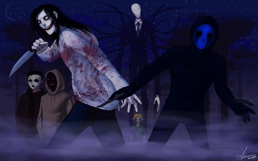 Creepypasta Wallpaper 2 by SUCHanARTIST13
