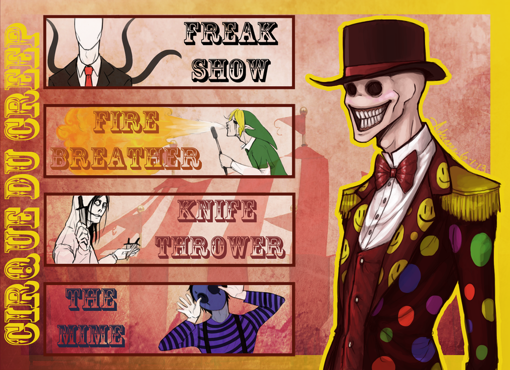 Cirque Du Creep by SUCHanARTIST13
